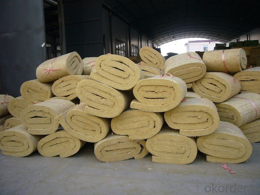 Special Quality Rock Wool Blanket 110KG50MM For Insulation