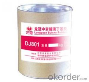 High Quality DJ801 Butyl Sealant for Insulating Glass Primary Seal