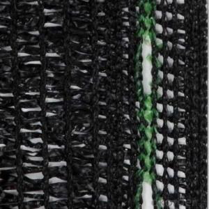 sunshade net with high quality Black with Blue Line