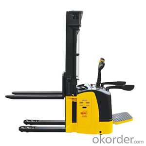 Double Pallet Electric Stacker- CDDK15S