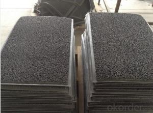 Non slip durable PVC coil mat