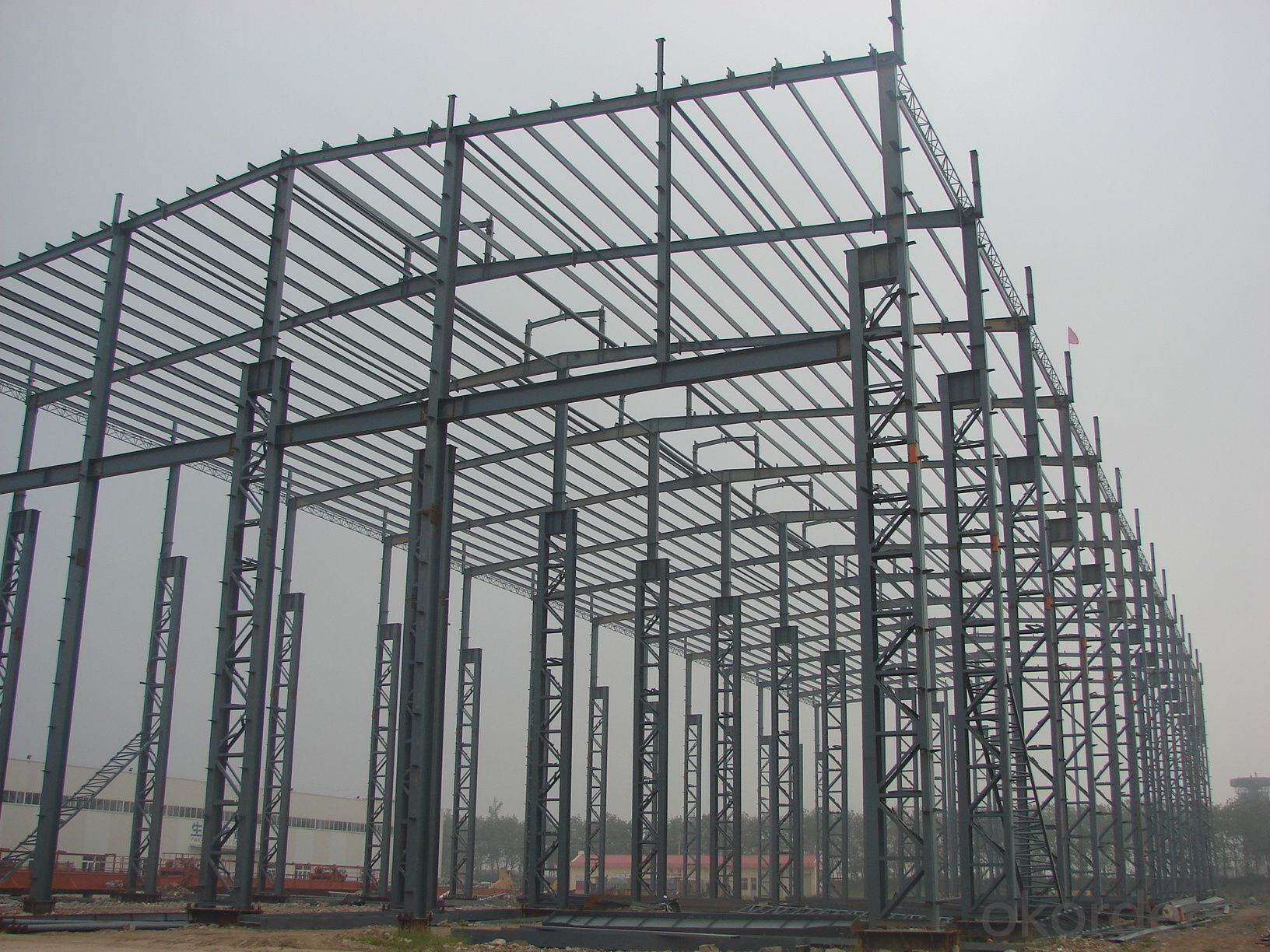 Famous brand carbon prefabricated steel structure