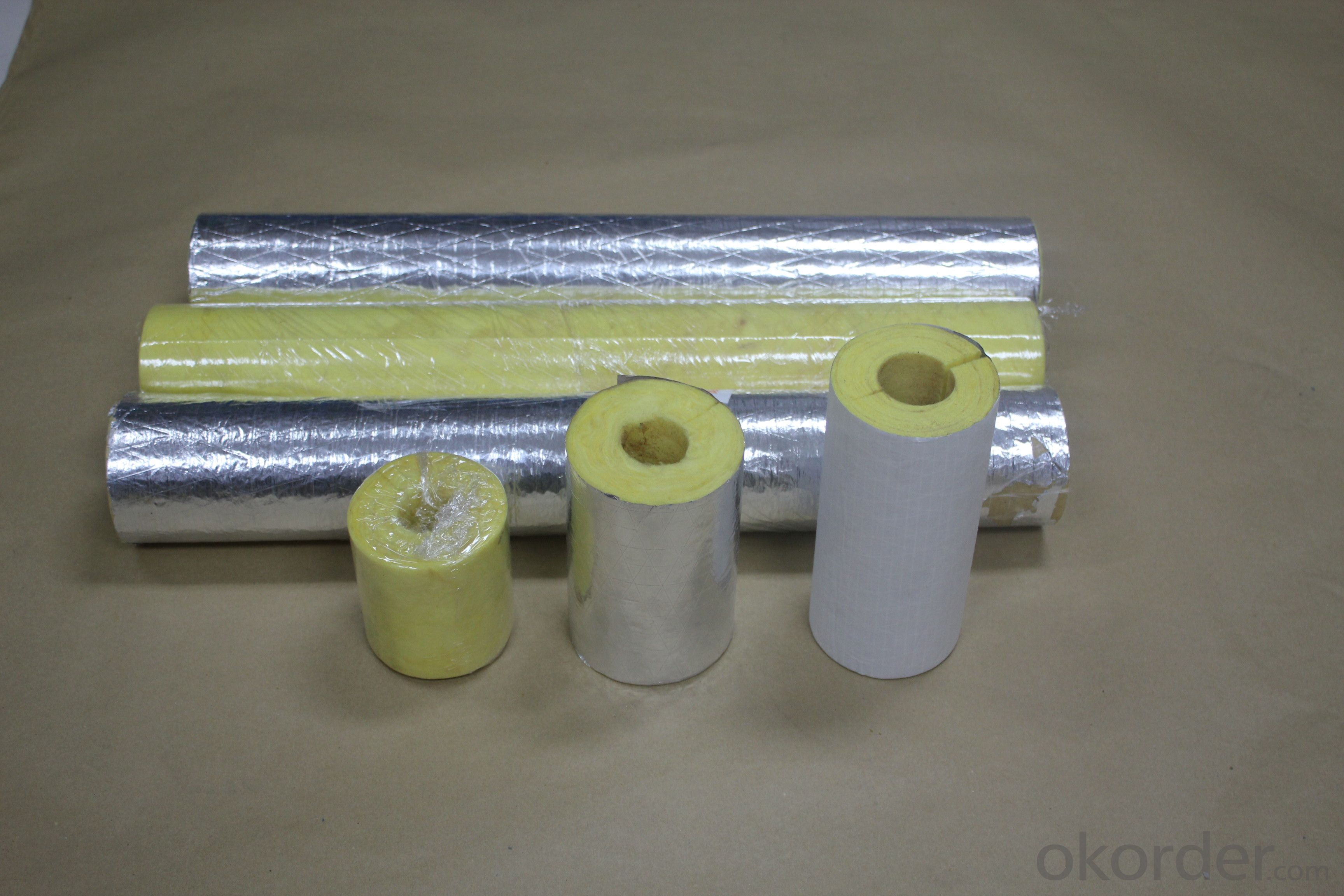 Glass Wool pipes with FSK