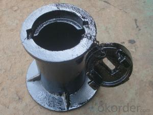 Cast iron water meter bucket