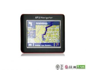 Small Portable Motorcycle 3.5 Inch GPS Navigator Bluetooth