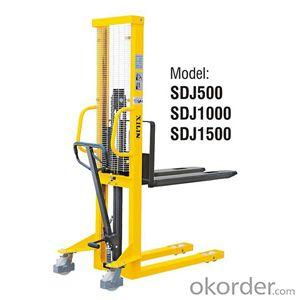 MANUAL STACKER Fixed Forks Style- SDJ500/1000/1500