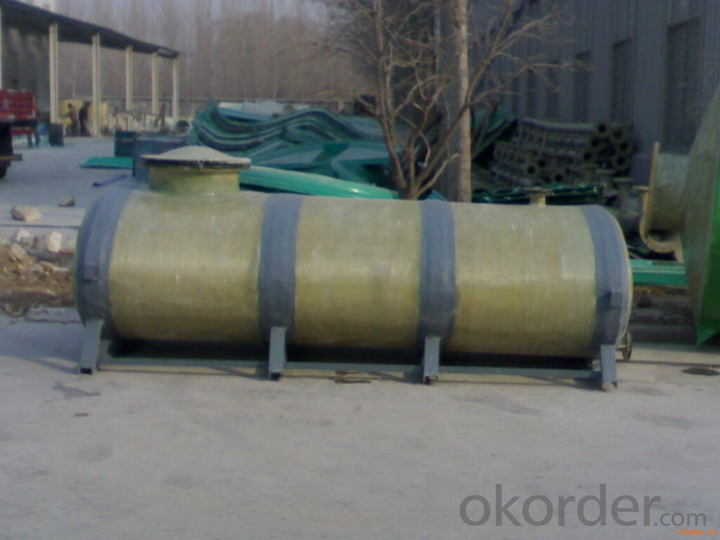 FRP Tanks for Water Treatment with Great Quality/FRP Soft Water Tank On Hot Sales /Fiber Glass Reinforced Plastic Vessels DN7000