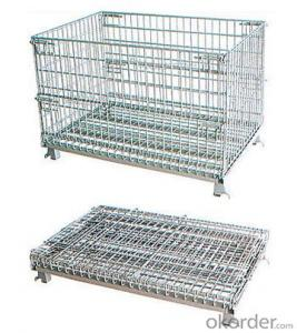 storage cage for warehouse