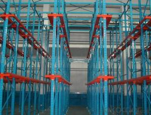 Drive-in Racking System for Warehouse Storage