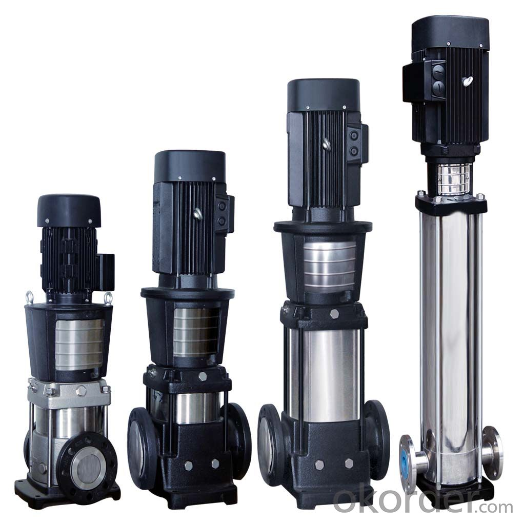 Vertical Pipeline Multistage Centrifugal Pump ALDG Series