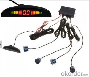 Manufacturer Of parking sensor -LED Buzzer sensor kits ,4sensors,6sensors,8sensors,12V for cars,Parking safety