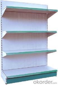heavy duty supermarket rack