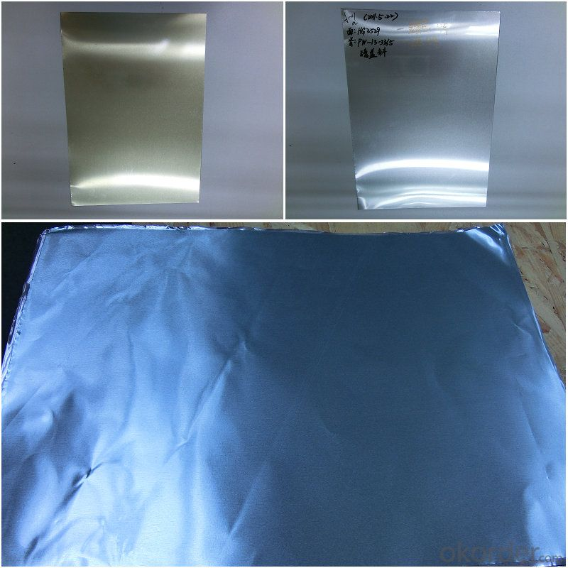 transparent color coated aluminium foil and coils