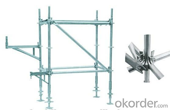 All-Round Ring-Lock Scaffolding System