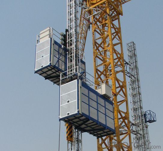 SC300 construction hoist high speed