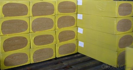 Insulation Rock Wool Board 80KG 100MM For Building