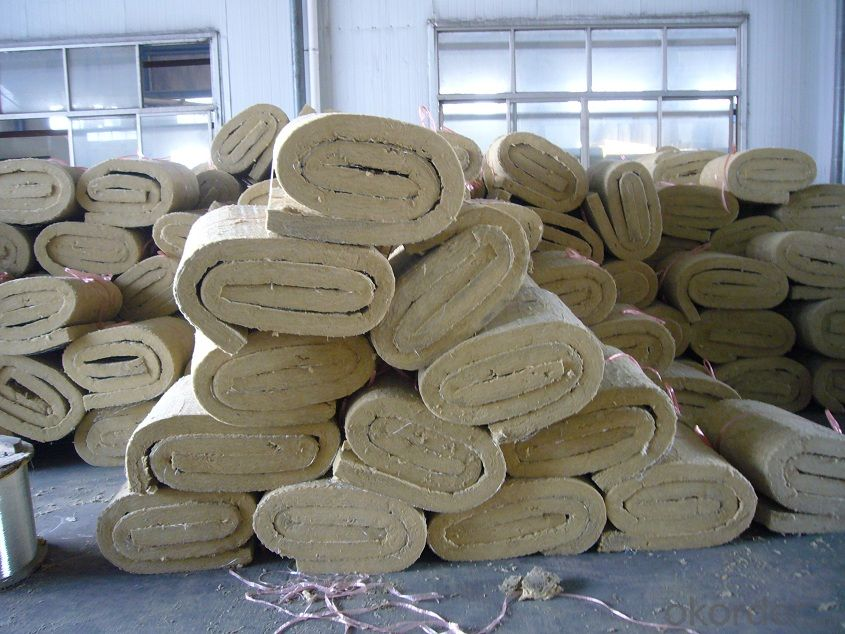Ware House Building  Rock Wool Blanket 90KG For Insulation