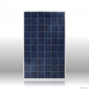 Top supplier high efficiency poly solar panel 250w