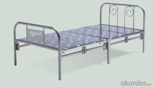 Single Folding Metal Bed