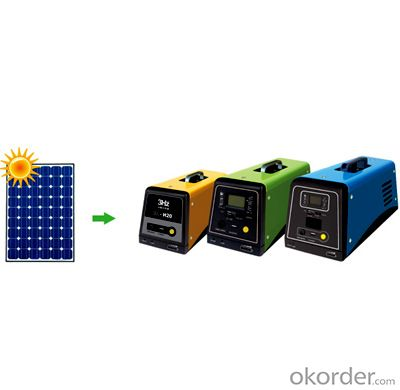 Solar generator portable with MP3/Solar power system free shipping