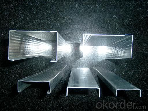 Metal Construction Materials Hot-Dipped Galvanized Light Steel Keel or Decorative wall panel