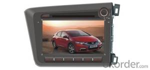 Honda-Civic 2012  Android 4.2.2 3G 8 inch 2014 new dvd with Origina car style