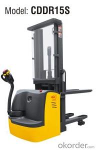 Double Pallet Electric Stacker- CDDR15S