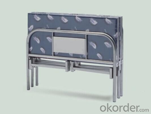 Foldable Single Metal Bed