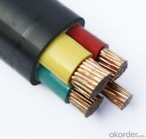 PVC insulated and sheathed power cable 0.6/1kV (unarmoured type)