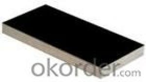 Black Film Eucalyptus Core Plywood 18mm Thickness