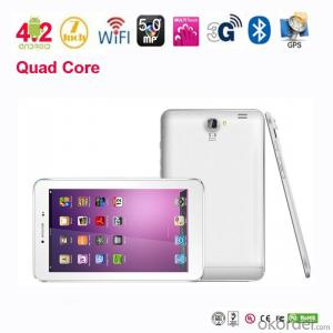 New model 7 inch mtk8389 quad core tablet pc with GSM WCDMA GPS,Bluetooth, HDMI