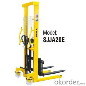 MANUAL STACKER Adjustable Forks Style- SJJA20E