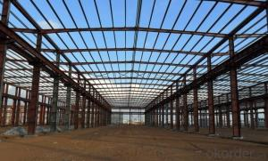 Galvanized steel structure building low price