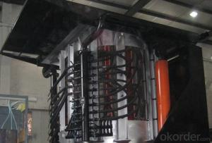Middle frequency induction furnace with parralel or series connection
