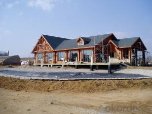 Seaside cheap prefabricated wood house
