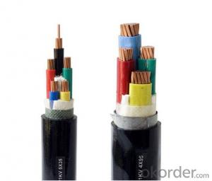 PVC insulated and sheathed power cable 0.6/1kV (steel tape armoured)