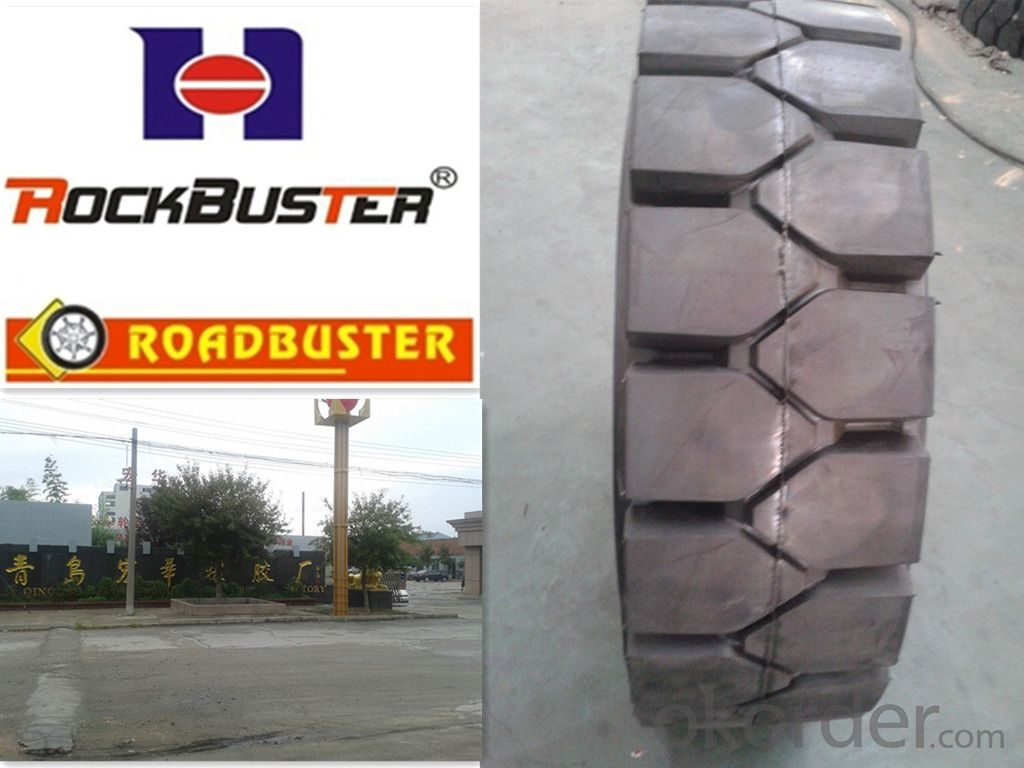Industrial Forklift Solid Tyres
