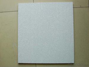 Sound-Absorbing Mineral Fiber Ceiling Tiles