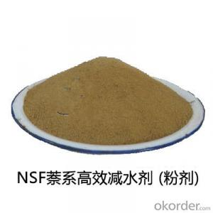 SNF Polyaphthalene Sulphonate water reduce concrete admixture