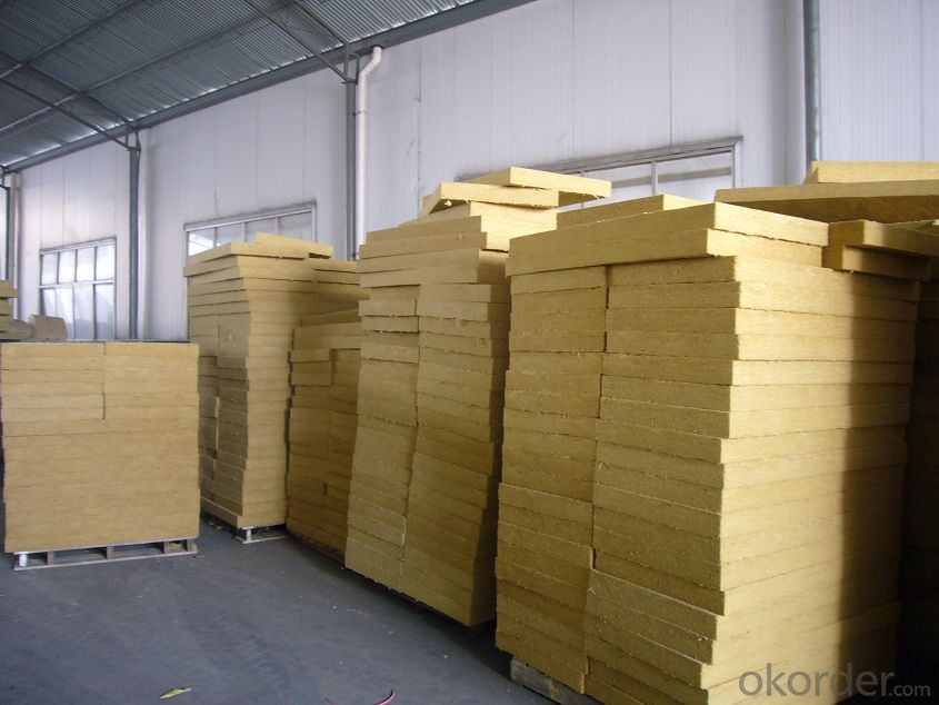 Insulation Rock Wool Board 70KG 100MM
