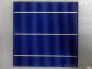 Poly-Crystalline Silicon Solar Cells3BB