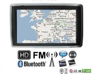 Factory Price 7 inch car PDN GPS with FM, MP3, Video function