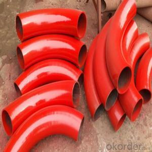 China concrete pump 90D bend