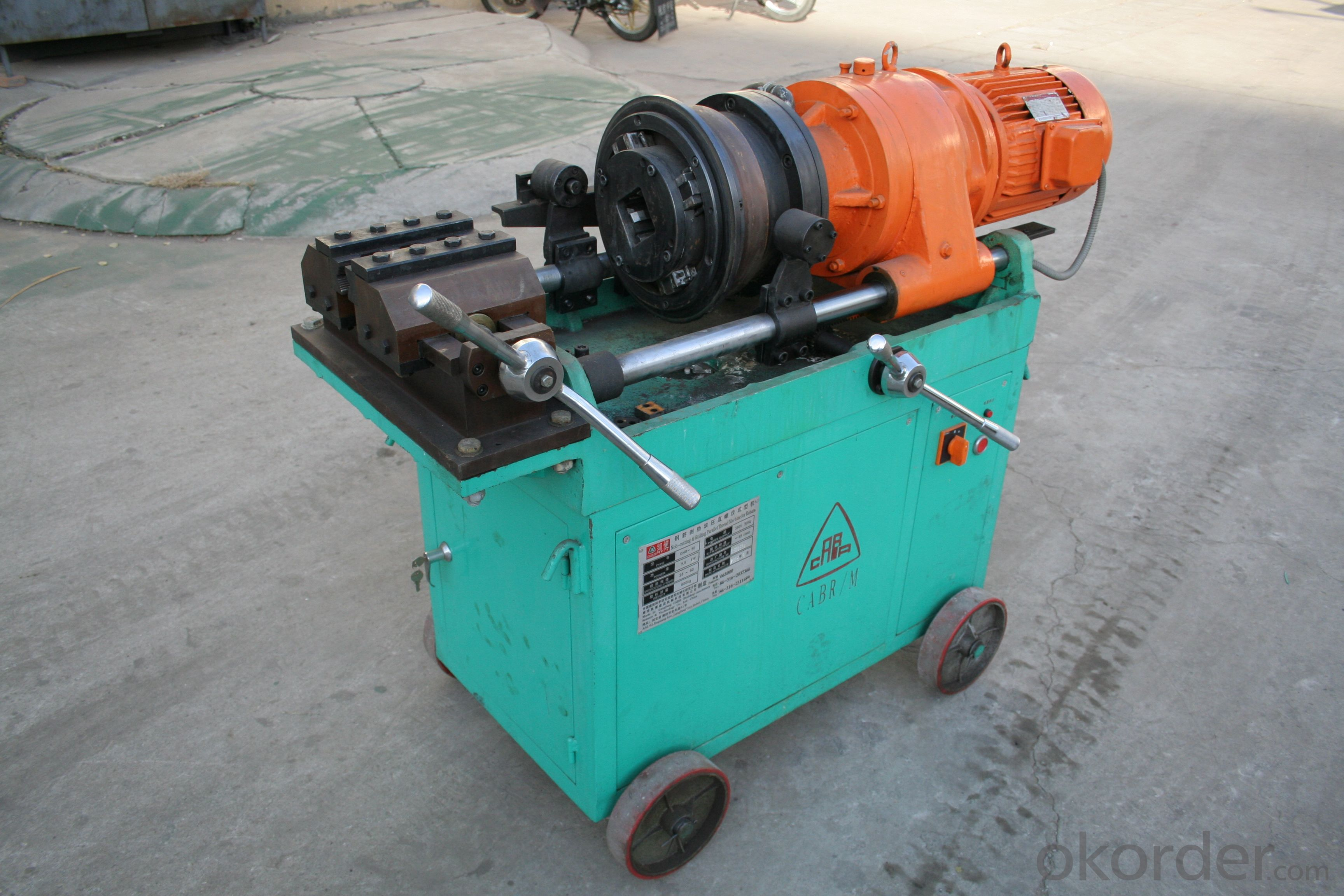 GHB50 Rebar Threading Machine