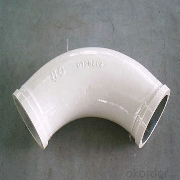 Delivery Elbow Pipe For Putzmeister Concrete Pump Truck