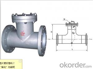 pipeline T type filter for industry water treatment