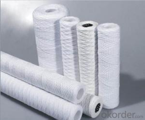 PP String wound filter cartridge for water treatment