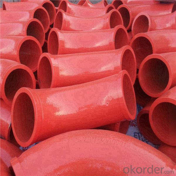 concrete pump R275 45D carbon steel elbow pipe