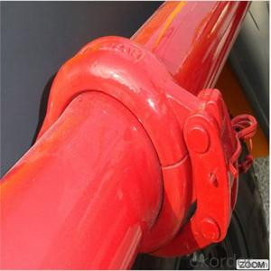 Concrete pump clamp coupling connect rubber hose