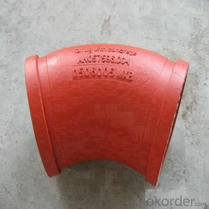 Delivery Elbow In Putzmeister Concrete Pump Truck Parts